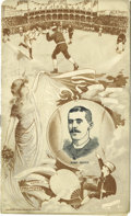 Baseball Collectibles:Programs, 1888 Chicago vs. Philadelphia National League Program. The Cubs and the Phillies were known as the White Stockings and the ...
