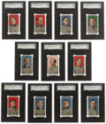 Baseball Cards:Sets, 1909 E95 Philadelphia Caramel Complete SGC-Graded Set (25). This set is considered one of the finest early candy issues and... (Total: 25 )