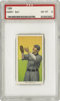 Baseball Cards:Singles (Pre-1930), 1909-11 T206 Harry Bay PSA NM-MT 8. Bay was the American Leaguestolen base champion in 1903 with forty-five. He had 169 ca...