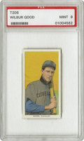 Baseball Cards:Singles (Pre-1930), 1909-11 T206 Wilbur Good PSA Mint 9. Hit the first pinch homer inCub annals, and on August 18, 1915, he became the only Cu...