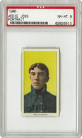 Baseball Cards:Singles (Pre-1930), 1909-11 T206 Addie Joss Portrait PSA NM-MT 8. Hall of FameCleveland Indians ace whose greatest achievement was his complet...