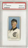 Baseball Cards:Singles (Pre-1930), 1909-11 T206 J.F. Kiernan PSA NM-MT 8. One of the very few images that exist on this minor league player. Nice corners and ...