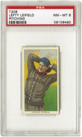 Baseball Cards:Singles (Pre-1930), 1909-11 T206 Lefty Leifield Pitching PSA NM-MT 8. He won twentygames in 1907 and nineteen for the 1909 pennant winners. Ex...