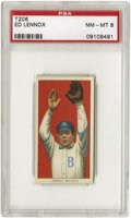 Baseball Cards:Singles (Pre-1930), 1909-11 T206 Ed Lennox PSA NM-MT 8. Played sporadically from1906-1915 in the NL, AL and the Federal Leagues. Good borderin...