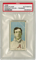 Baseball Cards:Singles (Pre-1930), 1909-11 T206 Eddie Plank PSA - Authentic . The T206 Eddie Plank isfrequently compared to the famed Honus Wagner of the sam...