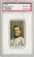 Baseball Cards:Singles (Pre-1930), 1909-11 T206 Nap Rucker Portrait PSA NM-MT 8. He spent barely tenseasons in the Big Leagues, all with the Dodgers, and fai...