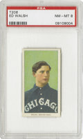 Baseball Cards:Singles (Pre-1930), 1909-11 T206 Ed Walsh PSA NM-MT 8. No American League pitcher hasever worked as many innings as Big Ed Walsh did in 1908. ...
