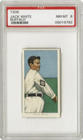 Baseball Cards:Singles (Pre-1930), 1909-11 T206 Jack White Buffalo PSA NM-MT 8. A player in theInternational League with one of few images of him on a baseba...