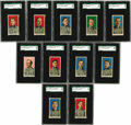 Baseball Cards:Sets, 1910 E90-2 American Caramel Complete SGC-Graded Set (11). Offered is a complete 11-card set of E90-2 American Caramel featu... (Total: 11 )