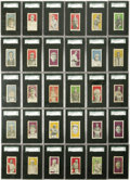 Baseball Cards:Sets, 1910 E99 Bishop & Company Complete SGC-Graded Set (30). Thisset was issued by the Los Angeles candy maker Bishop and Compa...(Total: 30 )