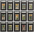 Baseball Cards:Sets, 1911 T212 Obak High-Grade SGC Collection (37). A wonderfulhigh-grade collection of this rare west coast minor league issue...(Total: 54 )