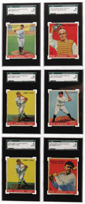 "Baseball Cards:Sets, 1933 V353 World Wide Gum ""Canadian Goudey"" Complete Set (94). Thisfresh set presents virtually Near Mint throughout and co... (Total:94 )"