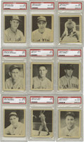 "Baseball Cards:Sets, 1939 Play Ball Baseball Complete Set (161). Utilizing betterquality photos and a larger card size (2-1/2"" x 3-1/8""), the Gu..."