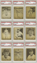Baseball Cards:Sets, 1940 Play Ball Baseball Near Complete Set (239). Following up on its initial success in 1939, Gum Inc. returned with a large...