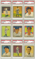 Baseball Cards:Sets, 1941 Play Ball Baseball Complete Set (72). While the backs arenearly identical to the previous year's Play Ball issue, the ...
