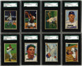 Baseball Cards:Sets, 1951 Bowman Baseball Complete Set with Autographs (324). In 1951,Bowman increased the number of cards in its set to 324 car...