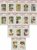 Baseball Cards:Sets, 1952 Bowman High-Grade Complete Set (252). This issue features the colorful artwork that the early 1950's Bowman issues were...