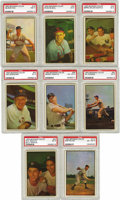 Baseball Cards:Sets, 1953 Bowman Baseball Color Complete Set (160). Long a collectorfavorite for its outstanding color photograph and uncluttere...