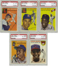 Baseball Cards:Sets, 1954 Topps Baseball Complete Set, All PSA EX-MT 6. A labor of lovefor one dedicated consignor can now be yours with ease, ...
