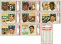 Baseball Cards:Sets, 1956 Topps Baseball Complete Set (342). Innovations found in the1956 Topps set include team cards as part of the regular se...