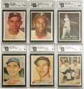 Baseball Cards:Sets, 1957 Topps Baseball Complete Set (407). This is the first Topps issue to feature full color photographs with a nice mix of a...