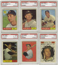 Baseball Cards:Sets, 1961 Topps Baseball Complete Set (587). The 1961 Topps baseballseries consists of 587 cards and includes a scarce high numb...
