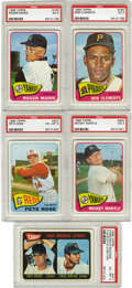 Baseball Cards:Sets, 1965 Topps Baseball Complete Set (598). The 1965 Topps baseball series consists of 598 cards and certain cards in the high-n...