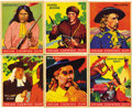 Miscellaneous Collectibles:General, 1933 Goudey Indian Gum Complete Set plus Blue Variations (240).Goudey's Indian Gum set is among the most popular of all non...