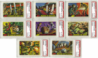 """1962 Topps """"Mars Attacks"""" Complete High-Grade Set (55). Simultaneously charming in its cartoonish design and h..."""