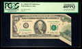 Error Notes:Foldovers, Fr. 2168-B $100 1977 Federal Reserve Note. PCGS Extremely Fine40PPQ.. ...