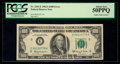 Error Notes:Gutter Folds, Fr. 2163-E $100 1963A Federal Reserve Note. PCGS About New 50PPQ.. ...