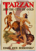 Books:Science Fiction & Fantasy, [Jerry Weist]. Edgar Rice Burroughs. Tarzan and the City of Gold. Tarzana: Edgar Rice Burroughs, [1933]. Second edit...