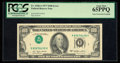 Error Notes:Inverted Third Printings, Fr. 2168-A $100 1977 Federal Reserve Note. PCGS Gem New 65PPQ.. ...