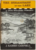 Books:Horror & Supernatural, J. Ramsey Campbell. The Inhabitants of the Lake and Less WelcomeTenants. Sauk City: Arkham House, 1964. First editi...