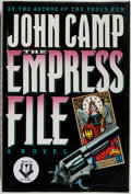 Books:Mystery & Detective Fiction, John Camp. SIGNED. The Empress File. New York: Holt, [1991].First edition. Inscribed by the author to Dolores on ...