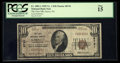 National Bank Notes:Pennsylvania, Garrett, PA - $10 1929 Ty. 1 The First NB Ch. # 6741. ...