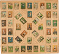 Boxing Cards:General, Impressive 1910 T223 Dixie Queen Boxing Card Vintage Display. ...