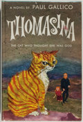 Books:Fiction, Paul Gallico. Thomasina. The Cat Who Thought She Was God.Garden City: Doubleday & Company, Inc., 1957. First ed...