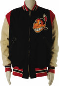"""Baseball Collectibles:Uniforms, Circa 1948 Herold """"Muddy"""" Ruel Game Worn Jacket. Bidders who participated in our October 2005 auction will certainly rememb..."""