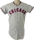 Baseball Collectibles:Uniforms, 1967 Joe Niekro Game Worn Rookie Jersey. Along with his Hall of Fame sibling Phil, Joe formed half of the most successful f...