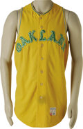 Baseball Collectibles:Uniforms, 1968 Lew Krausse Game Worn Jersey. Following in the family tradition (Lew Krausse, Sr. played for Connie Mack's American Le...