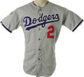 "Baseball Collectibles:Uniforms, 1988 Tommy Lasorda World Series Game Worn Uniform. ""Guys ask me, don't I get burned out?"" Lasorda once said of his fifty ye... (Total: 2 Items)"