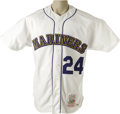 Baseball Collectibles:Uniforms, Circa 1998 Ken Griffey, Jr. Turn-Back-the-Clock Game Worn Jersey. Unbeatable provenance and classic styling make this gamer...