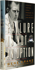 Books:Signed Editions, Gene Kranz: Signed Failure Is Not An Option (New York: Simon and Schuster, 2000), eighth edition, dust jacket with a pic... (Total: 1 Item)