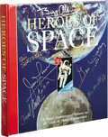 Explorers:Space Exploration, Heroes of Space Signed by Shepard, Cernan, Mattingly, Lovelland Aldrin....