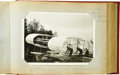 "Transportation:Aviation, Amazing Vintage Aeroplane Photograph Album. An historicallyimportant album containing 48 detailed 7"" x 5"" early aviation ph...(Total: 1 Item)"