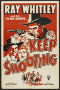 "Movie Posters:Short Subject, Keep Shooting (RKO, 1942). One Sheet (27"" X 41""). Short Subject...."