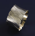 Silver & Vertu:Hollowware, AN AMERICAN SILVER NAPKIN RING. George W. Shiebler Co., New York, New York, circa 1880. Marks: (winged S), STERLING, 610, ...