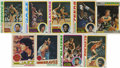 Basketball Cards:Lots, 1975-1987 Basketball Group Lot of 127. Includes 1977-78 Topps #20Pete Maravich (HOF), (2) 56 Adrian Dantley (R), 124 Moses ...