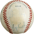 Autographs:Baseballs, 1979 AL All-Star Team Signed Baseball. Eight members of theAmerican League All-Star team that competed in 1979 are represe...